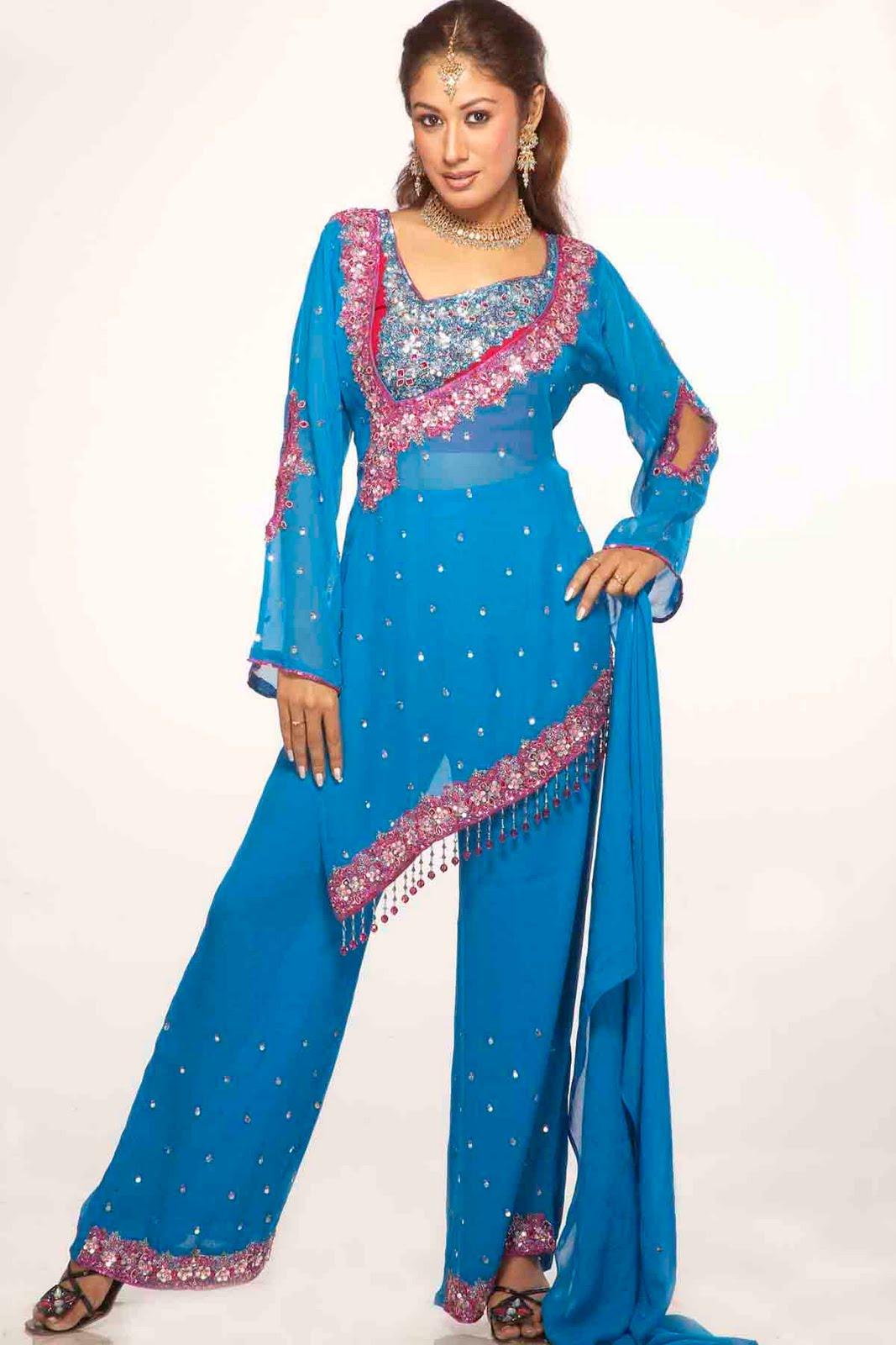 New Designer Punjabi Suit 2012 | Free Wallpapers
