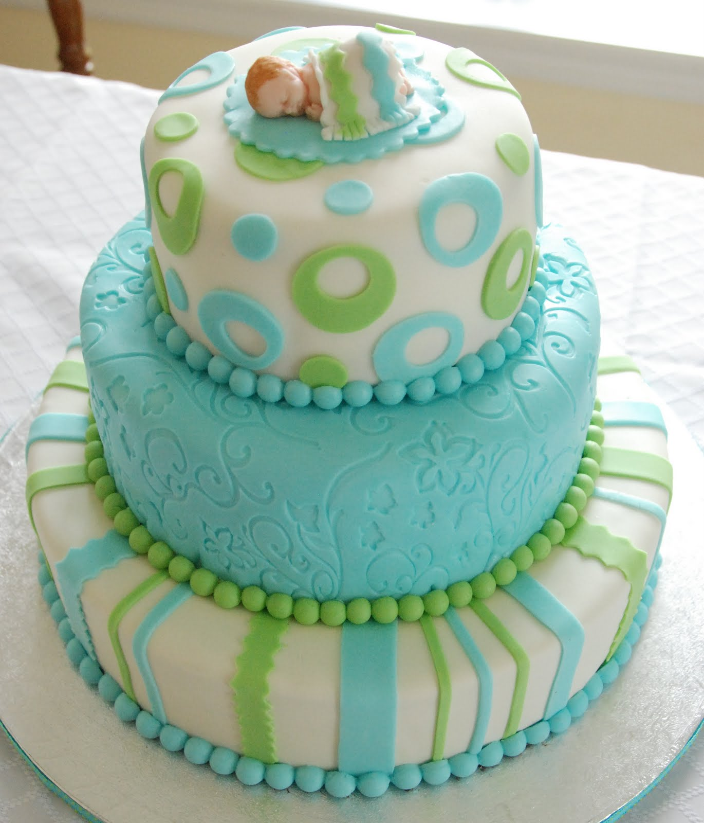 Green And Blue Baby Shower Baby Interior Design
