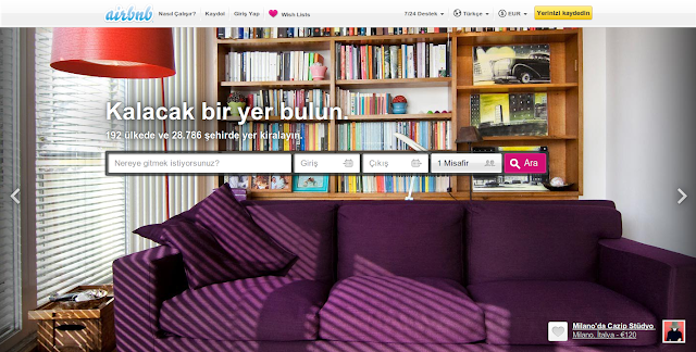 airbnb-websitesi