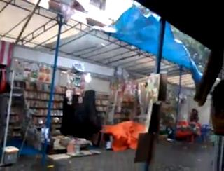 Hujan Deras da Angin Ribut di Expo Rembang 2013