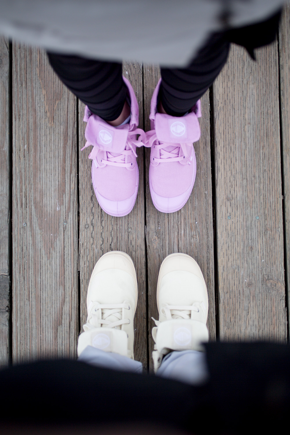 His and Hers Baggy Palladium Boots
