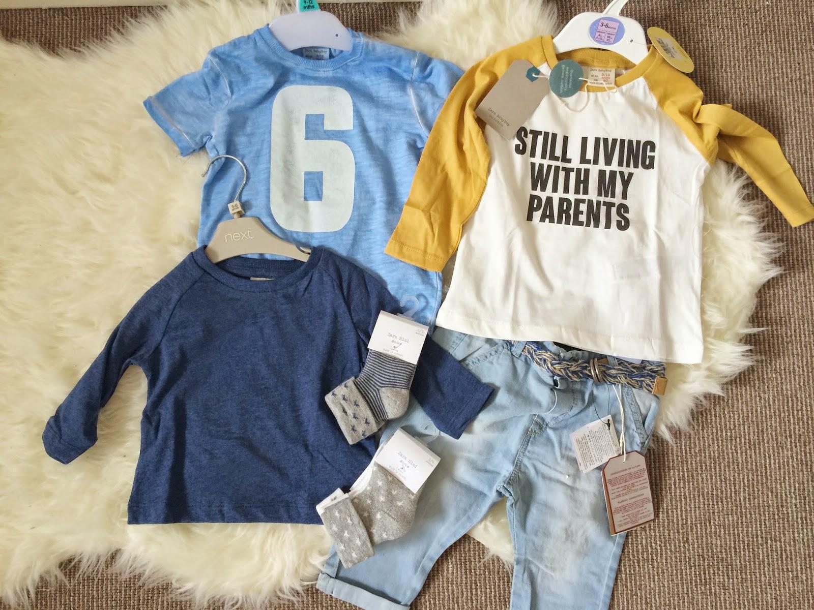Baby Boy Clothing Haul 1 Oh So Amelia