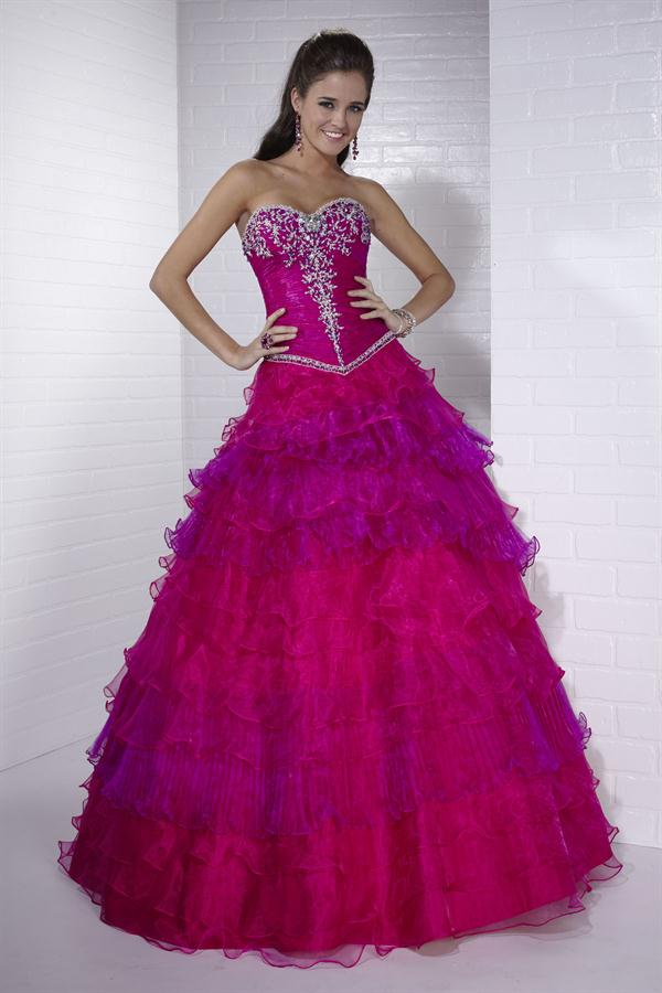 Magnífico Vestidos De Fiesta Púrpura Y Turquesa Imagen - Vestido de ...