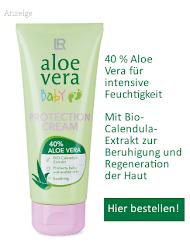 Aloe Vera Wundschutzcreme für Babys