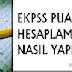 EKPSS puan hesaplaması nasıl yapılacak?