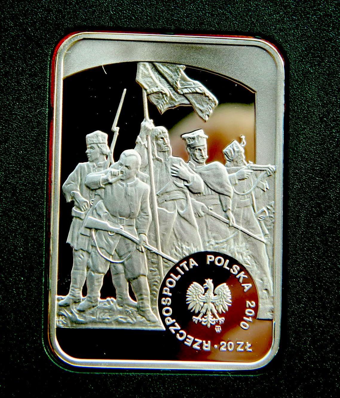 Серия Художники монеты 20 злотых военные