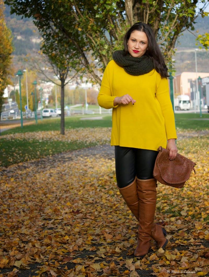 moda mujer en otoño