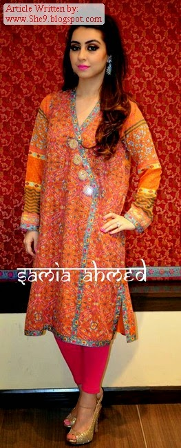 Samia Ahmed Winter Kurti Collection