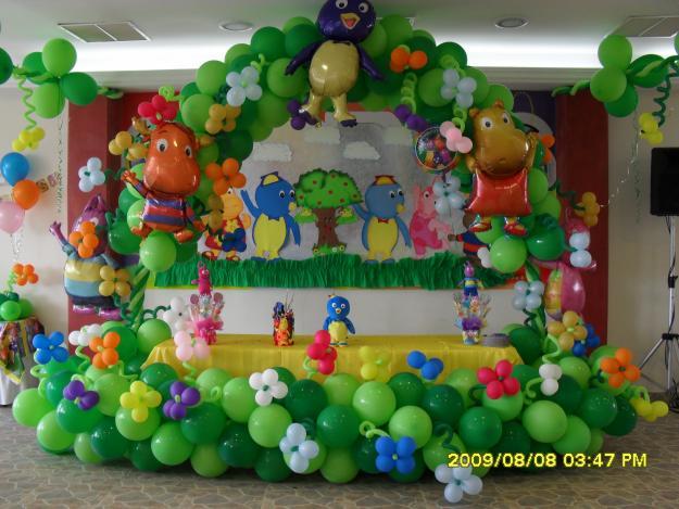 Decoraciones globos - Decoracion con globos ...