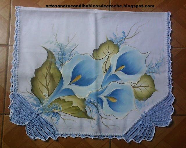 Artesanato Candiba Bicos de Crochê: Bicos de croche Zilda de Pilões