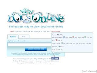 Deschide PDF online - formate