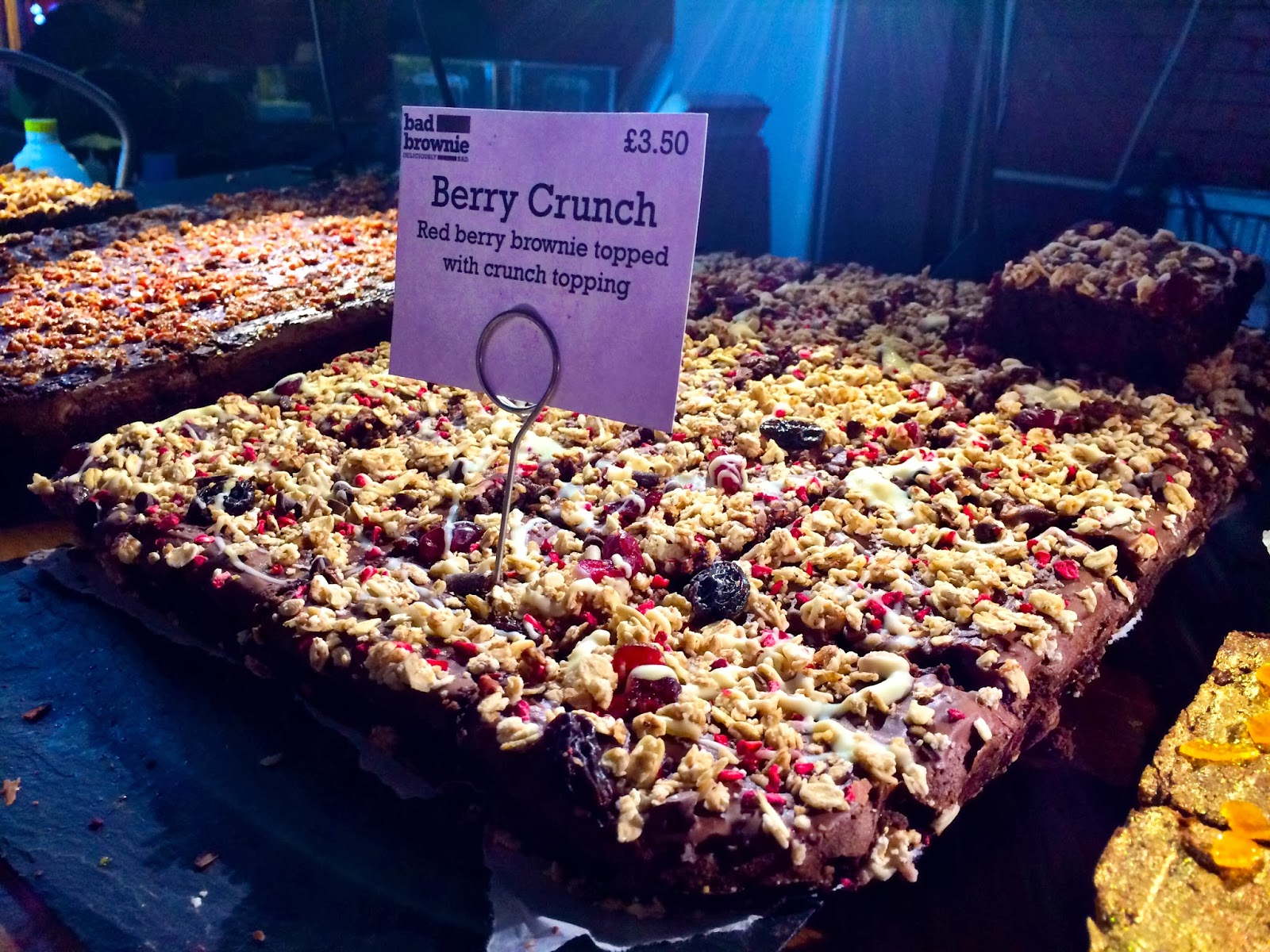Berry Crunch - Bad Brownie - Hawker House