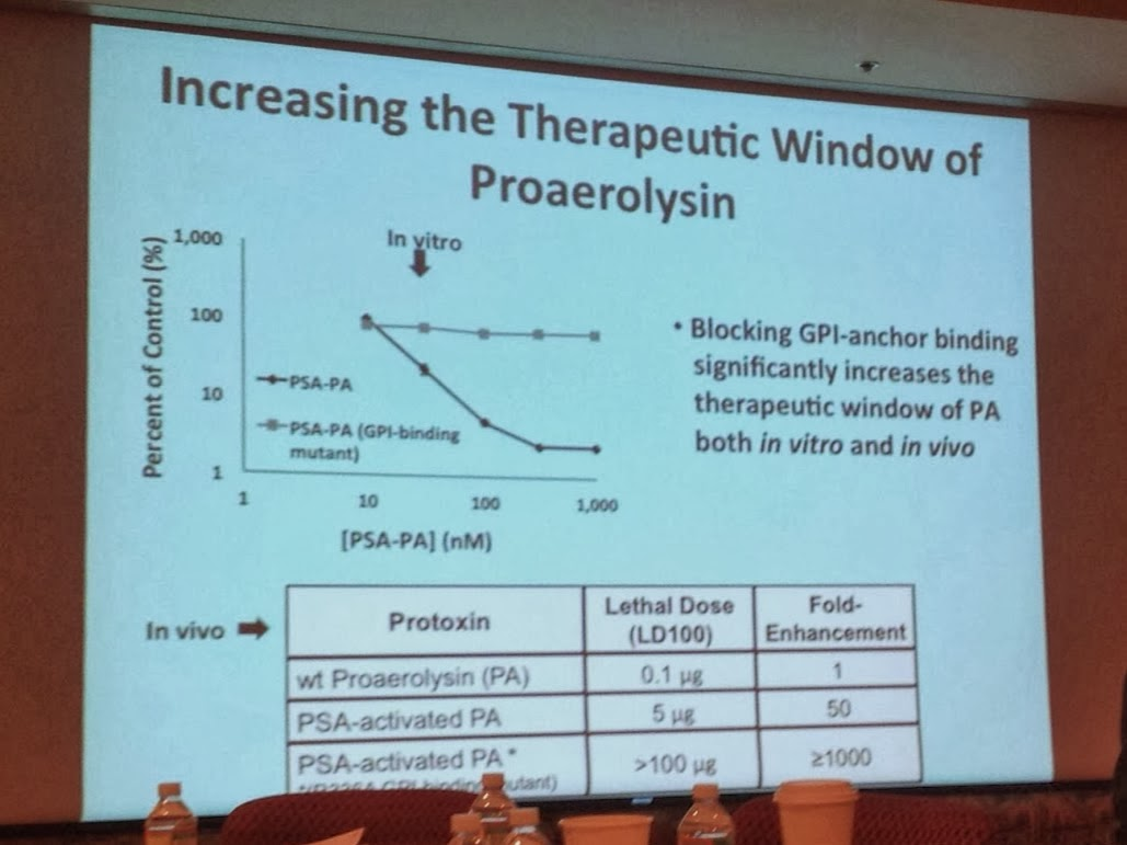 brady urology at johns hopkins hospital 2014 dr john isaacs presented a novel concept based on chemical engineering principles of a unique molecule that is activated only in prostate cancer cells
