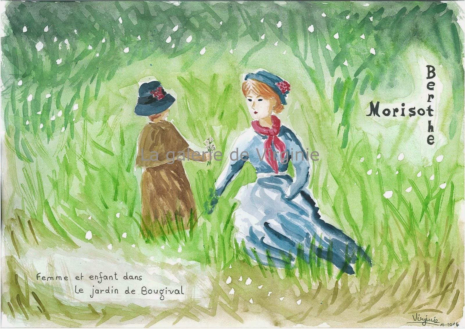 La galerie de Virginie: Femme et enfant dans le jardin de ...