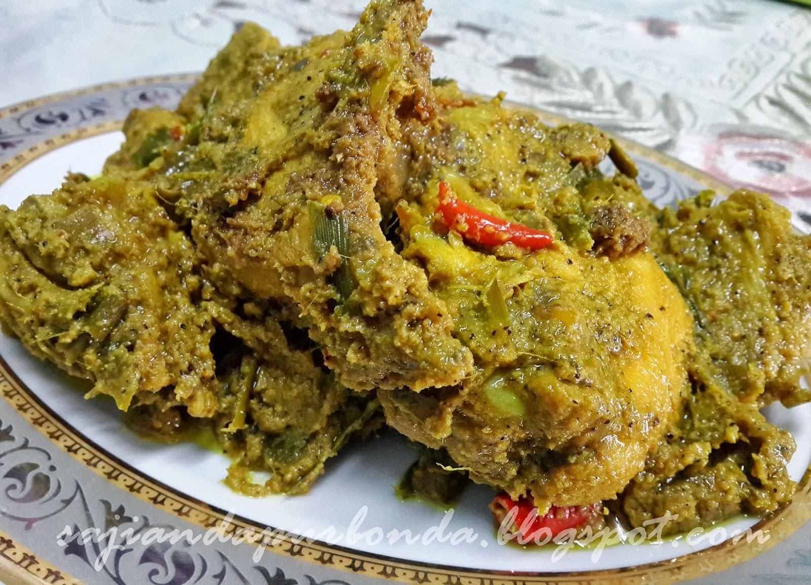 Sajian Dapur Bonda Nasi Kuning | Share The Knownledge