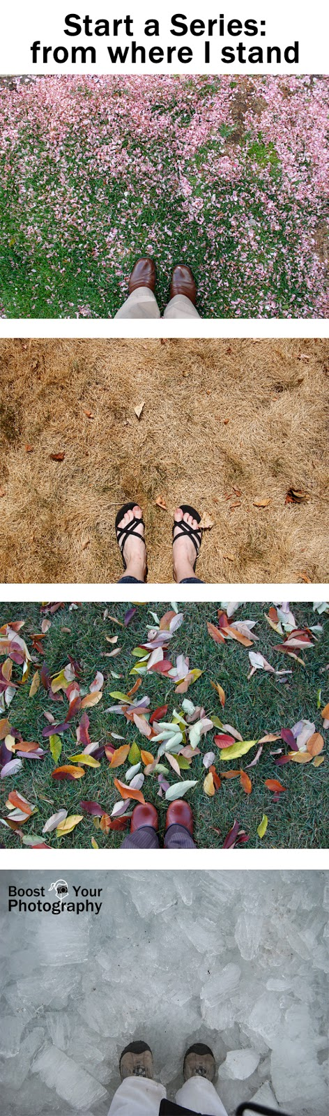 Start a Series: from where I stand | Boost Your Photography