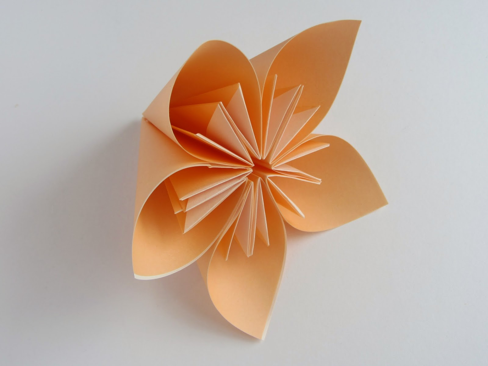 Origami Kusudama Flower Without Glue