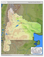 Neuquen Argentina Mission Map