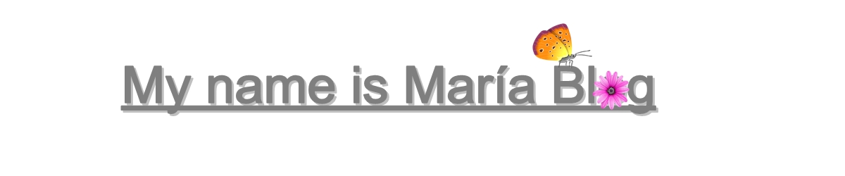 My name is María.