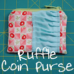 Ruffle Coin Purse
