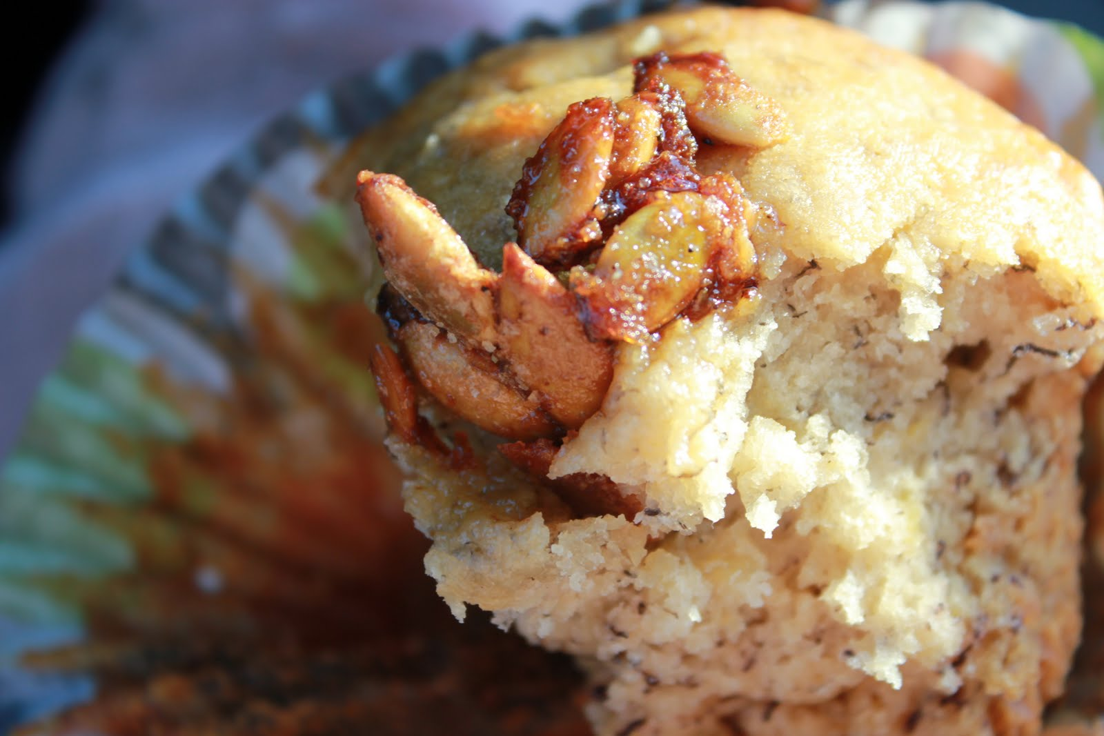 Squirrels-n-Sweets: Lucky Roasted Banana Muffins & Cherry ...