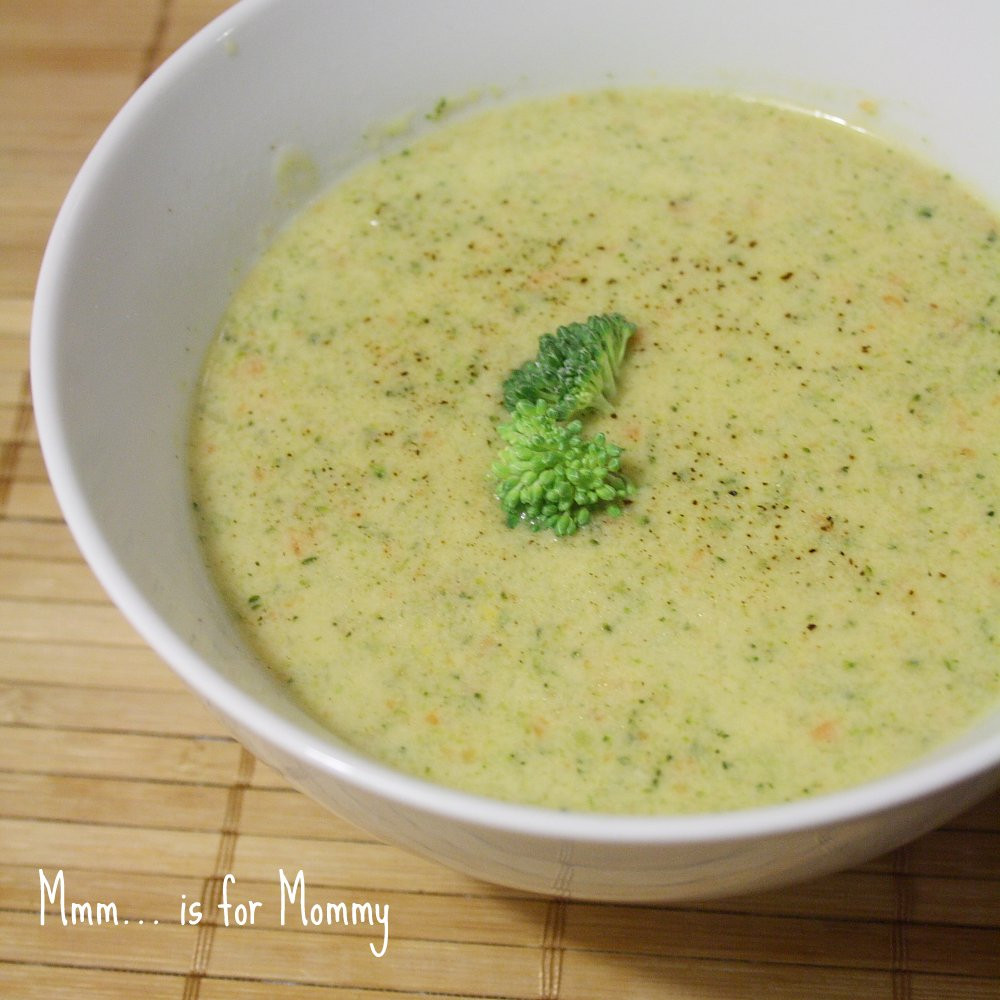Broccoli Cheddar Soup - Mmm... is for Mommy