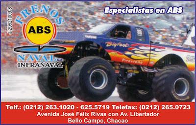 FRENOS ABS NAVAL, C.A. en Paginas Amarillas tu guia Comercial
