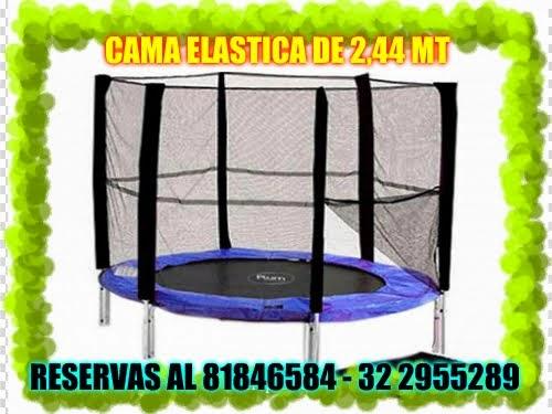 CAMA ELASTICA DE 2,44 MT