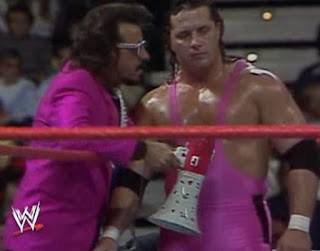 WWF / WWE ROYAL RUMBLE 1988 - JIMMY HART w/ BRET HART