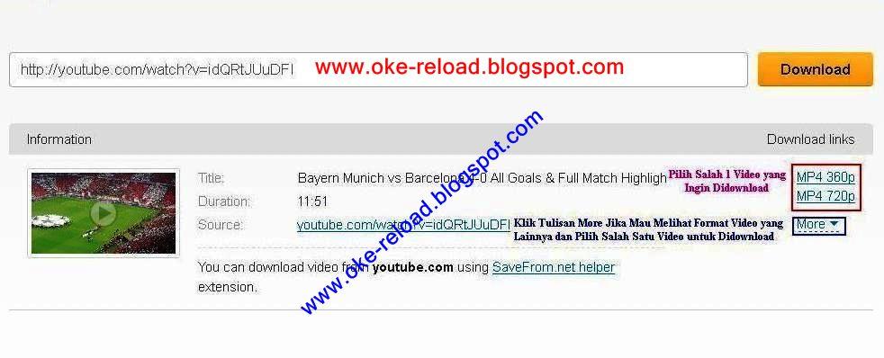 Cara Download Video di Youtube tanpa Software IDM dan Keepvid