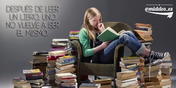 Después de leer un libro, uno no vuelve a ser el mismo