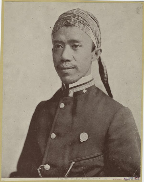 Portrait of Javanese At Chicago Fair, Midway.1893