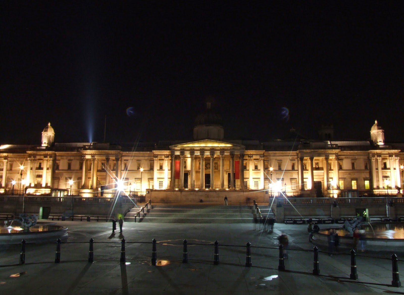 National Gallery na Placu Trafalgar.