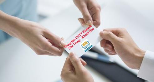 Trao đổi Business card