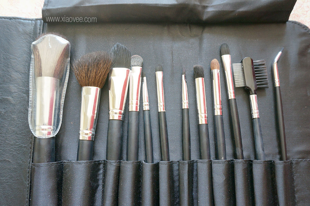coastal scents brushes. coastal scents 12 piece brush set review, scent ideal for beginner, brushes p