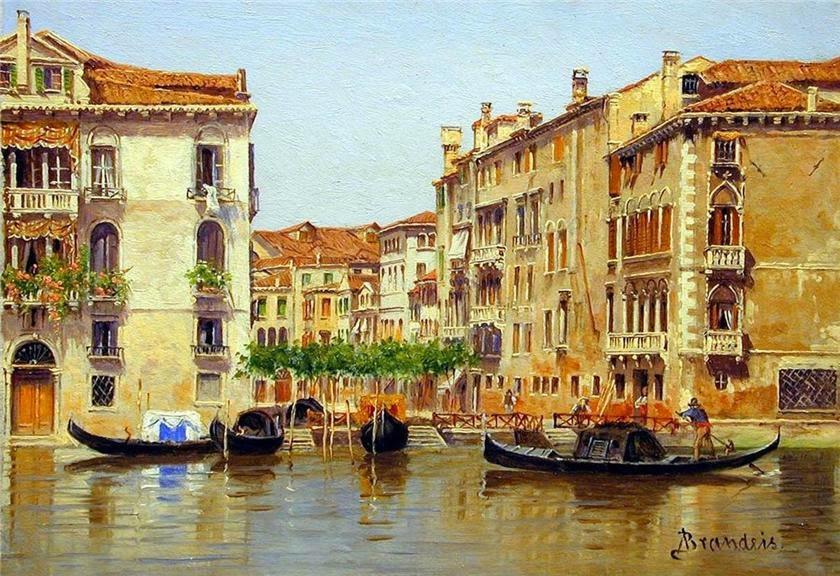 "Antonietta Brandeis  ""Венеция"" 1849-1910"
