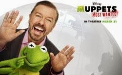 Muppets Most Wanted starring Ricky will be released in March 2014