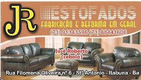 JR ESTOFADOS - REFORMA E FABRICAÇÃO