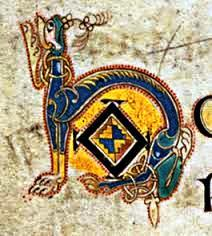 "Book of KELLS (Letra ""h"")"