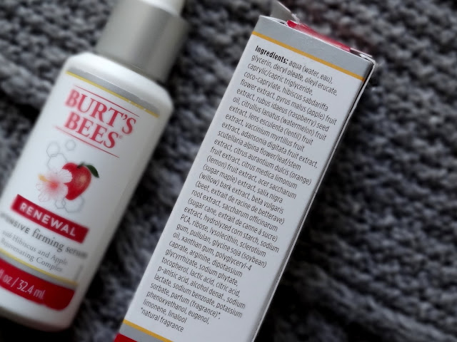 Burt's Bees Renewal Day Lotion SPF 30 and Intensive Firming Serum Review, Photos