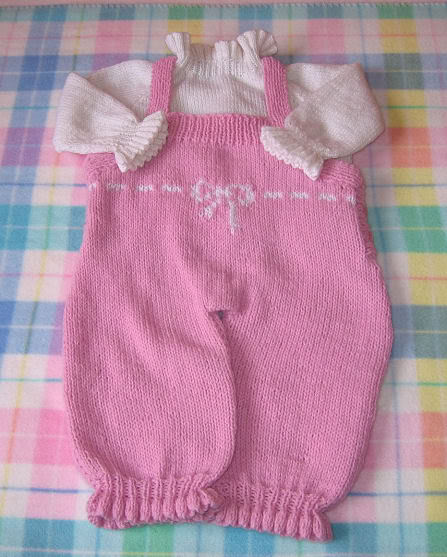 Baby Clothes Knitting Patterns : Free knitting pattern baby girl clothes models