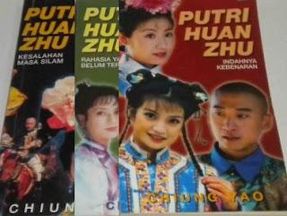 Novel Putri Huan Zhu karangan Chiung Yao