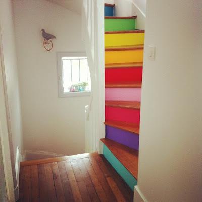 como decorar una escalera