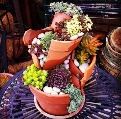 عمل تجميل للاواني المكسورة broken-pot-fairy-garden-15-408x400.jpg