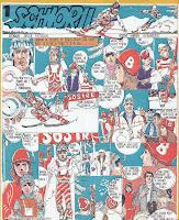 benzi desenate desene revista cutezatorii schiorii sever noran marian avramescu comics romania
