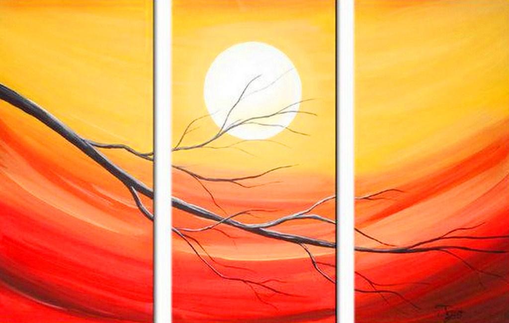 Pintura moderna y fotograf a art stica cuadros minimalistas - Como hacer cuadros faciles en casa ...