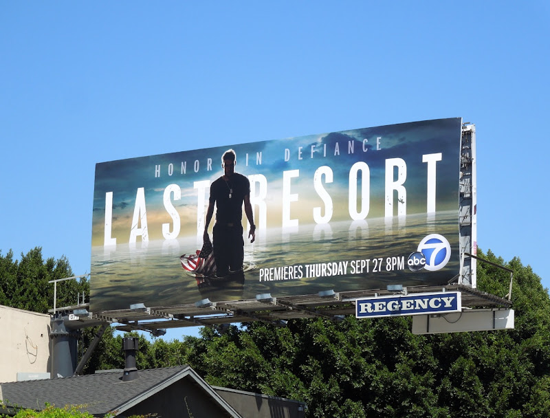 Last Resort TV billboard