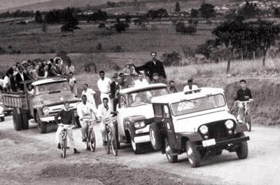 1967 - Festa na Santa Cruz.