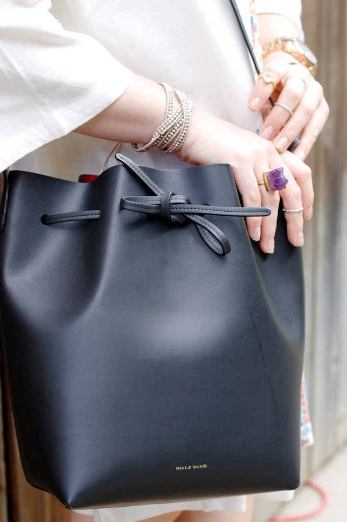 Mansur Gavriel bucket bag Covet and ACquire Vancouver fashion blog