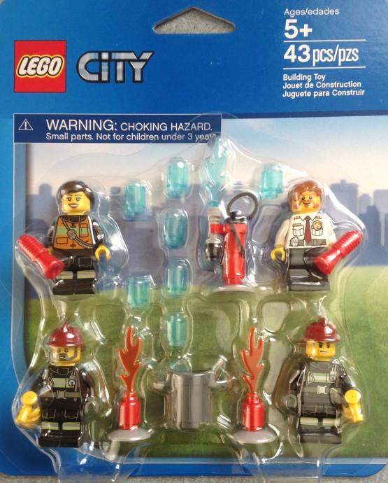 Moje Klocki Lego Lego City Zestawy Ludzików Policja I Straż Pożarna